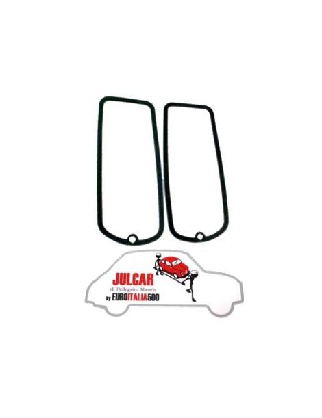 Coppia guarnizioni intermedie fanali posteriori Fiat 500 D