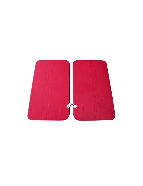Coppia pannelli porta anteriori Fiat 500 F rossi economici