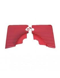 Coppia pannelli posteriori Fiat 500 L rossi