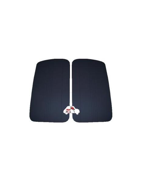 Coppia pannelli porta anteriori Fiat 500 D - Giardiniera neri in Vipla