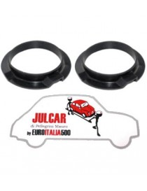Coppia anelli gomma molloni posteriori Fiat 500 D