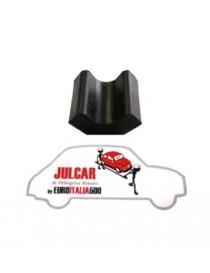 Tassello in gomma distanziale alluminio sotto balestra Fiat 500