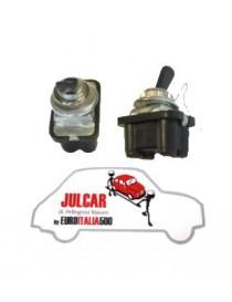 Interruttore illuminazione quadro ASI 2 attacchi tondi Fiat 500