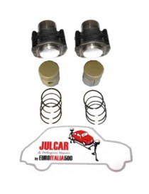 Kit canne e pistoni da 73,5 mm 600 cc Fiat 500 R