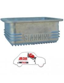 Coppa olio motore alluminio Giannini da 3.5 L Fiat 500