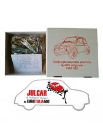 Cablaggio elettrico qualità Asi Fiat 500 F 2° serie