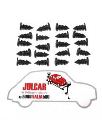 Kit 20 gommini tappeto pavimento Fiat 500