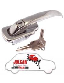 Maniglia sinistra esterna in alluminio Fiat 500 N/D/Giard