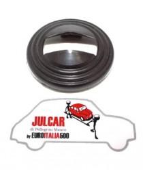 Rosone nero maniglia apriporta Fiat 500
