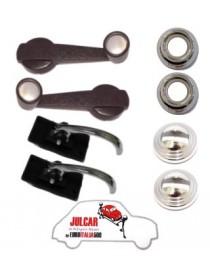 Kit maniglie interne cromate Fiat 500 L