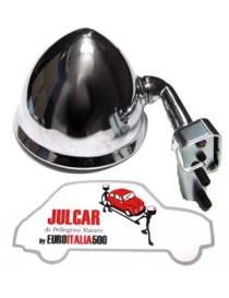 Specchio esterno a goccia a morsetto con guarnizione Fiat 500