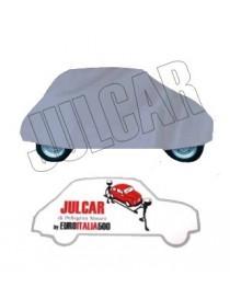 Telo copriauto da interno grigio Fiat 500