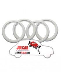 """Kit fasce bianche per pneumatici da 12"""" Fiat 500"""