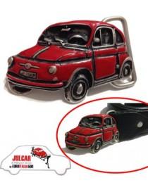 Fibbia cintura rossa Fiat 500