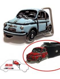 Fibbia cintura azzurra Fiat 500