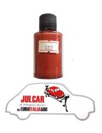 """Vernice ritocco carrozzeria cod. 102 """" Rosso Corallo """" da 30 ml Fiat 500"""