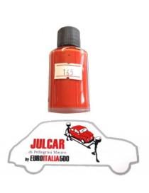 """Vernice ritocco carrozzeria cod. 165 """" Rosso Corallo Scuro """" da 30 ml Fiat 500"""