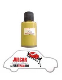 """Vernice ritocco carrozzeria cod. 278 """" Giallo Senape """" da 30 ml Fiat 500"""