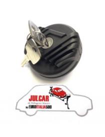 Tappo serbatoio benzina con chiave Fiat 500 F/L/R/Giard
