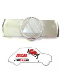 Fregio anteriore in metallo cromato Autobianchi 500 Giardiniera