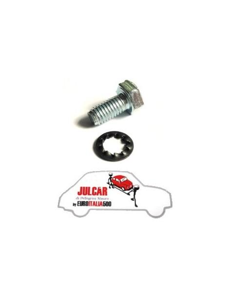 Bullone e rondella fissaggio cerniera porta Fiat 500 F/L/R