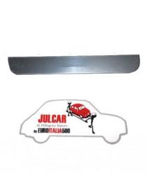 Riparazione inferiore porta destra Fiat 500 F/L/R