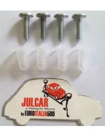 Kit viti e cappucci deflettore Fiat 500