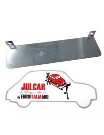 Supporto targa anteriore in acciaio Fiat 500