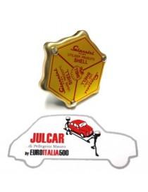Tappo olio coperchio punterie Giannini Shell Fiat 500/126