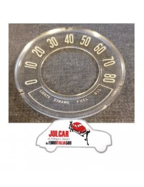 Vetrino cruscotto inclinato 80 Mph miglia Fiat 500