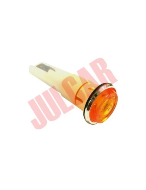 Freccia lucciola laterale arancione Fiat Autobianchi 500 Giardiniera