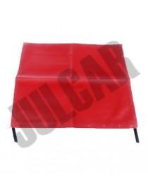 Telo capote rosso Fiat 500 F/L/R