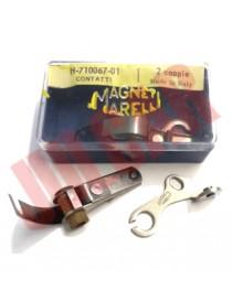 Puntine Magneti Marelli Originali ( 2 coppie ) Fiat 500/126