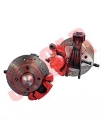 Kit modifica impianto freni a disco Fiat 500 - Fiat 126
