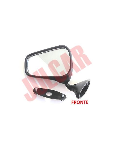Specchio retrovisore in plastica con fissaggio a vite Fiat 500/126/124
