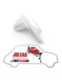 Molletta in plastica fissaggio pannelli porta Fiat 500