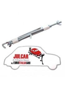 Staffa fissaggio batteria Fiat 500