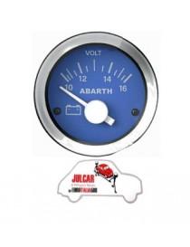 Strumento voltmetro blu Abarth Ø 52 mm Fiat 500