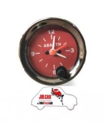 Strumento orologio rosso Abarth Ø 52 mm  Fiat 500