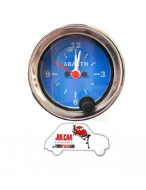 Strumento orologio blu Abarth Ø 52 mm  Fiat 500