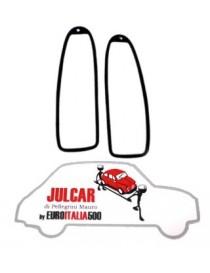 Coppia guarnizioni intermedie fanali posteriori Fiat 500 Giard