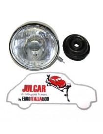 Faro anteriore completo tipo Carello con luce di posizione Fiat 500 F/L/R