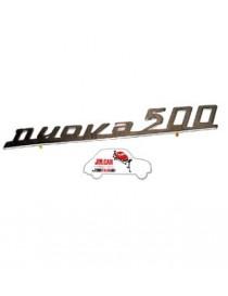 """Fregio posteriore """"Nuova 500"""" Fiat 500 D/F"""