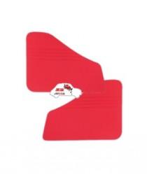 Coppia pannelli posteriori Fiat 500 D rossi in Vipla