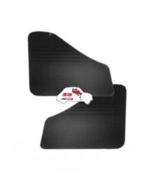 Coppia pannelli posteriori Fiat 500 D neri in Vipla