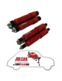 Kit ammortizzatori sportivi a doppio effetto Fiat 500/126