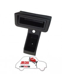 Portaradio e portaoggetti in plastica adattabile Fiat 500