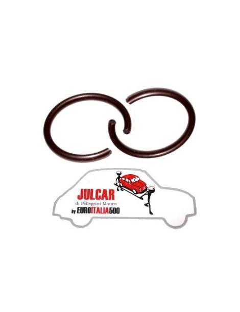 Coppia anelli di sicurezza semiasse Fiat 500 F/L/R/126